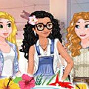 Игра Игра Моана в колледже принцесс Дисней