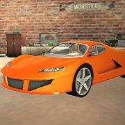 Игра Игра Крутые гонки на суперкарах 3Д