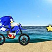 Игра Игра Соник: пляжная гонка