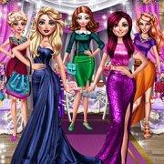 Игра Игра Одевалки: Гламурная Вечеринка