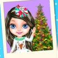 Игра Игра Новогодняя магия малышки Барби