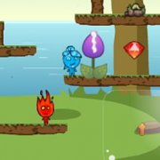 Игра Игра Огонь и Вода: выживание на острове 3