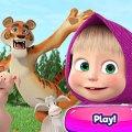 Игра Игра Маша и Медведь: Детские Развлечения