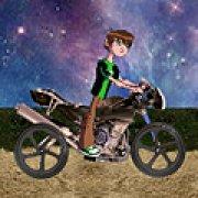 Игра Игра Бен 10: лунный байкер