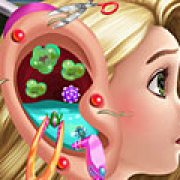 Игра Игра Рапунцель лечит ухо