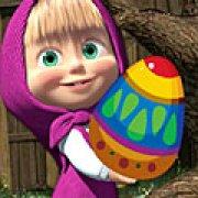 Игра Игра Маша ловит пасхальные яйца