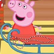 Игра Игра Свинка Пеппа на санках