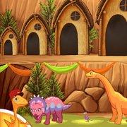 Игра Игра Поезд Динозавров: Дом Для Динозавра