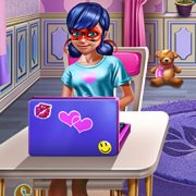 Игра Игра Модный блог Леди Баг