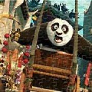 Игра Игра Пазлы: Кунг-фу Панда