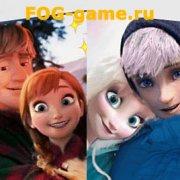 Игра Игра Холодное сердце: влюбленные Эльза и Анна