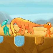 Игра Игра Поезд динозавров: Вода Для Динозавров