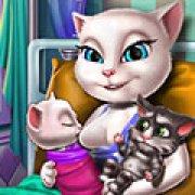 Игра Игра Анжела рожает близнецов