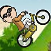 Игра Игра Гангнам езда на велосипеде