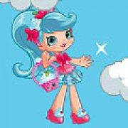 Игра Игра Шопкинс: Джессикейк прыгает по облакам