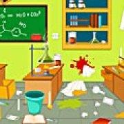 Игра Игра Уборка в моей лаборатории