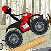Игра Игра Езда Стикмена на квадроцикле