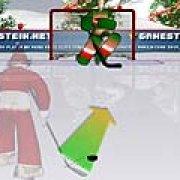 Игра Игра Хоккейные удары Санты
