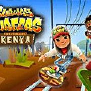 Игра Игра Сабвей серф кения