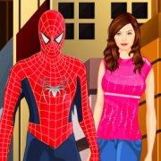 Игра Игра Человек паук целуется
