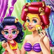 Игра Игра Ариэль реальный макияж