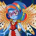 Игра Игра Девушки Эквестрии Радуга Дэш: кристальные крылья