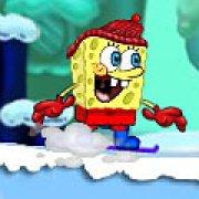 Игра Игра Губка Боб на сноуборде