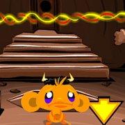 Игра Игра Счастливая обезьянка: Четыре Мира 3