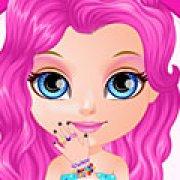 Игра Игра Малышка Барби блестящий маникюр