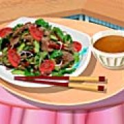 Игра Игра Кухня Сары тайский салат с мясом