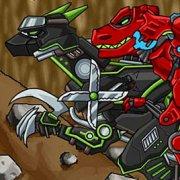 Игра Игра Роботы динозавры: древняя шахта