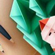 Игра Игра Новогодние оригами