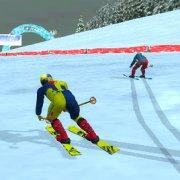 Игра Игра Олимпиада Лыжная Гонка