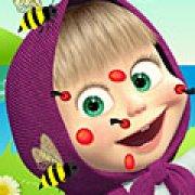 Игра Игра Машу покусали пчелы