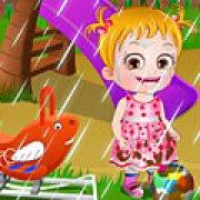 Игра Игра Малышка Хейзел: время стирки