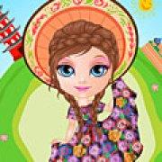 Игра Игра Малышка Барби костюмы вокруг света