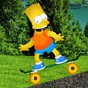 Игра Игра Барт Симпсон на скейтборде