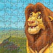 Игра Игра Король Лев: пазл