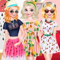 Игра Игра Фруктовый модный стиль принцесс Диснея