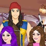 Игра Игра Наследники: Делать Прически
