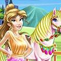 Игра Игра Красавица и Чудовище: уход за лошадью Белль