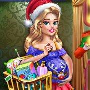 Игра Игра Беременная Девушка Покупает Новогодние Подарки