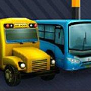 Игра Игра Парковка автобуса 3д