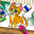 Игра Игра Раскраски животных: создай картинку
