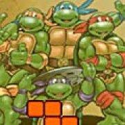 Игра Игра Черепашки ниндзя: тетрис